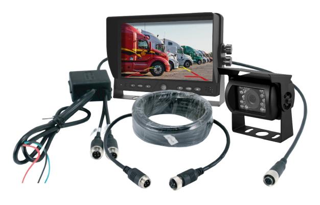 Backup Camera, Monitor and all components