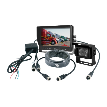Backup Camera, Monitor and Cable Components