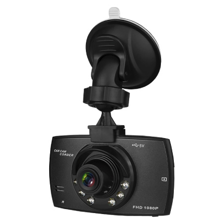 Dash Cam DC212 (Front Angle with Bracket)