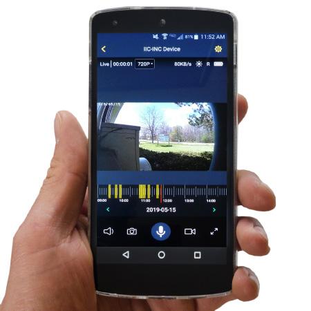 Wi-Fi Security Cam App (Live)