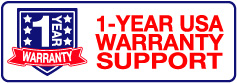 1-YEAR USA Warranty Support