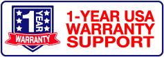 1-YEAR USA Warranty Support